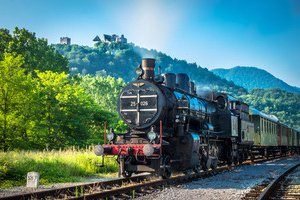 Heritage train form Celje to Grobelno