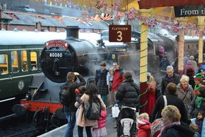 England Santa Special Christmas Train